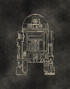 Star Wars Schematics Series - Created by Lindsey Cowley Star Wars Fan Art, Star Trek, C3po And R2d2, Science Fiction, Nerd, Star Wars Images, Star Wars Wallpaper, Love Stars, Marvel