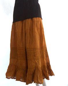 Hey, I found this really awesome Etsy listing at https://www.etsy.com/listing/170781438/frida-bohemian-gauze-maxi-skirt