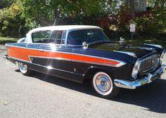 """'57 Nash Ambassador ... w/ """"327 V8 and Pininfarina styling."""""""