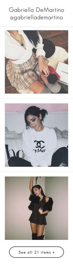"""Gabriella DeMartino @gabriellademartino"" by harrysdimplebaby ❤ liked on Polyvore"