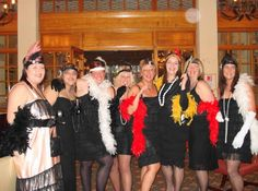 Attend a murder mystery party