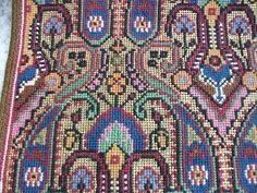 ru / Фото - greek embroidery once more 2014 - sashapet Needlepoint Designs, Needlepoint Stitches, Needlework, Cross Stitching, Cross Stitch Embroidery, Cross Stitch Patterns, Rug Inspiration, Art Nouveau, Oriental