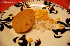 Pikkuunen: Tonnikalapihvit Grains, Rice, Food, Eten, Seeds, Meals, Korn, Diet