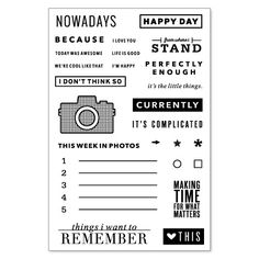 Stamps: Nowadays
