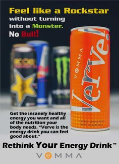 Check out the BEST energy drink around. Insanely Healthy Energy without the crash. #vemma #verve #healthyenergy #makemoney