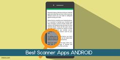 7 Best Scanner Apps for Android Phones 2017