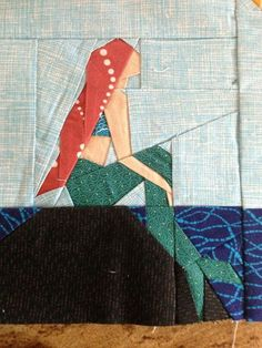The Little Mermaid by Jane. Pattern by Quiet Play