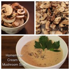 Birgit S Daily Bytes Homemade Condensed Cream Of Mushroom Soup Lc Gf Sf Sauces Spreads And Seasonings To Try Low Carb Or Paleo Pinterest