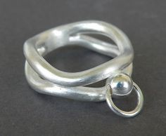 Ring der O 2 Band 935 Silber Ring Der O, O Ring, Band, Jewelries, Masters, Collars, Jewelery, Silver Rings, Bedroom