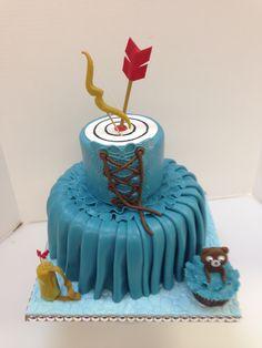 Hunger Games cake. CakeSuppliesDepot.com