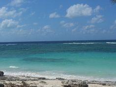 North Caico's beautiful water.  (Turks & Caico's)