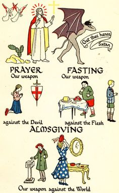 Prayer, Fasting & Almsgiving