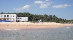 La spiaggia privata dell'hotel flamingo resort - Santa Margherita di pula - Cagliari - sardegna
