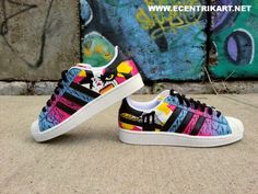 "adidas Originals Superstar II ""Scenery"" Customs by Ecentrik Artistry"