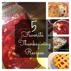 My Most Favoritest #Thanksgiving Recipes Ever