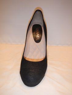10 Meilleures Images Du Tableau Chaussures Chanel En Depot Vente