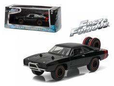 """Dom's 1970 Dodge Charger R/T Off Road """"Fast and Furious-Fast 7"""" Movie (2011 ) Diecast Model Car 1/43 by Greenlight - Brand new 1:43 scale diecast car model of Dom's 1970 Dodge Charger R/T Off Road """"Fast and Furious-Fast 7"""" Movie (2011 ) Diecast Model Car by Greenlight. Rubber tires. Brand new box. Limited Edition. Detailed interior, exterior. Comes in plastic display showcase. Dimensions approximately L-5 inches long.-Weight: 1. Height: 5. Width: 9. Box Weight: 1. Box Width: 9. Box Height…"""