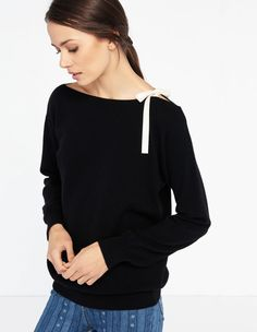 Peg, Black, | sandro-paris.com