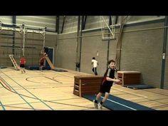SRO - Freerunning in het basisonderwijs - YouTube