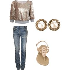 Keep it simple, created by arielle-joelle on Polyvore