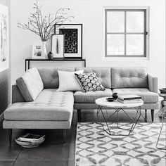 @westelm / couch and coffee table