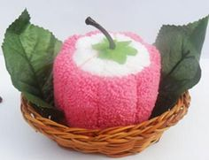 wow vegetable cake towel, really cute :) #food and drink