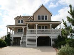 Outer Banks (OBX) rental: Generations - Semi-Oceanfront 5 bedroom house in The Village at Nags Head, Nags Head,