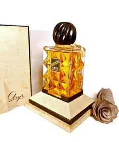 1930s antique vintage collectible perfume bottle ARYS by danycoty, $220.00
