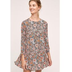 0c1869e2f7df I just discovered this while shopping on Poshmark: Anthropologie Alliume Swing  Dress NWT. Check