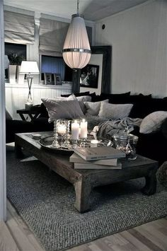 Black Living Room Furniture Decorating Idea Black and Grey sofa Living Room Ideas Leather Couch Decor Living Room Leather, Leather Sofa Living Room, White Living Room Decor, Couches Living Room, Apartment Living Room, Living Room Design Modern, Farm House Living Room, Living Room Grey, Living Room Decor Gray