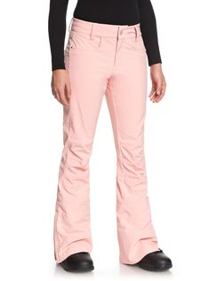 Creek - Shell Snow Pants for Women.Shell snow pants for women fashioned with ROXY DryFlight waterproofing technology,, ski Snowboard Pants, Ski Pants, Roxy, Snowboarding Women, Snowboarding Outfit, Type Of Pants, Outdoor Outfit, Skinny Fit, Black Pants
