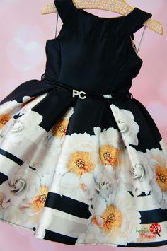 Vestido de Festa Infantil Lulu Petit Cherie