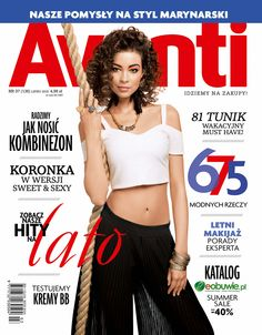 Milena Lewandowska at WAVE Models by Arkadiusz Jankowski for Avanti Magazine Cover - © Arkadiusz Jankowski Photography