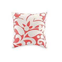 Kate Spade Spring Floral Pillow -- perfect pop of color to start introducing SPRING!!! If we decorate...it will come