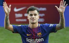 Download wallpapers Coutinho, presentation, 2018, FC Barcelona, footballers, FCB, La Liga, Barca, soccer, Philippe Coutinho, Barcelona, Phil Coutinho, LaLiga, Barcelona FC