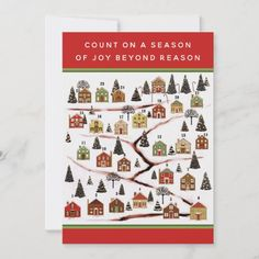 Christmas Advent Calendar Cards