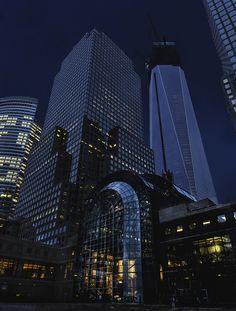 NYC. World Financial Center, Battery Park