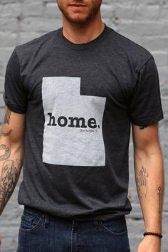 Utah Home T-Shirt by TheHomeT on Etsy https://www.etsy.com/listing/154893379/utah-home-t-shirt