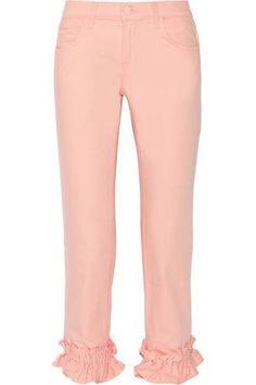 + Simone Rocha Jake cropped mid-rise boyfriend jeans #jeans #women #covetme #jbrand