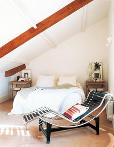 Una casa clara y serena