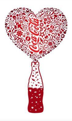 Coca-♡.