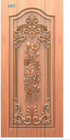 Wooden Front Door Design, Double Door Design, Steel Gate Design, House Gate Design, Pooja Room Door Design, Door Design Interior, Custom Wood Doors, Wooden Doors, Single Main Door Designs