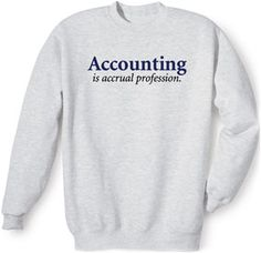 You might be a nerd if... accounting humor makes your day.