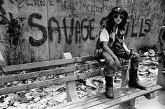 A member of the New York street gang Savage Skulls. The trademark of the…