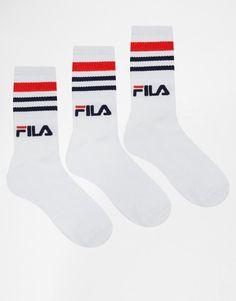 Fila | Fila 3 Pack Socks at ASOS
