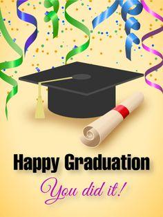Shining Graduation Cap Graduation Parties And Announcements