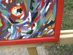 Abstract art  Atlanta's Own erie the artist.