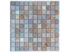 National Pool Tile Quartzite 1x1 Pool Tile | Golden Harvest | Checkers 1x1