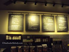 Starbucks — rework with black steel flame cut panels and magnetic letters / words