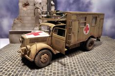 Opel Blitz Ambulance by Jerry Plettenberg ( 2013 )